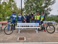 Ad Ottati installata la Panchina Bianca in memoria delle vittime della strada