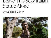 """""""Lasciate la statua sexy italiana in pace"""". La Spigolatrice di Sapri sbarca sul New York Magazine"""